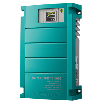 Mastervolt AC Master Inverter - 12V/500W (230V) - IEC Outlet - Side View