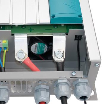 Mastervolt Mass Sine Inverter - 24V/1500W - (230V/60Hz) - Inside Wire Connection View