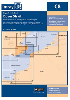 Imray C8 Dover Strait Chart