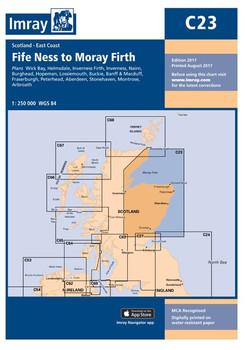 Imray C23 Fife Ness to Moray Firth Chart