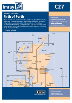 Imray C27 Firth of Forth Chart
