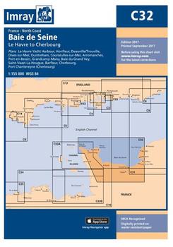 Imray C32 Baie de Seine Chart