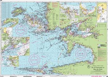 Imray C36 Île d'Ouessant to Raz de Sein Chart