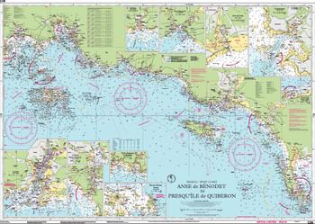 Imray C38 Anse de Bénodet to Presqu'île de Quiberon Chart