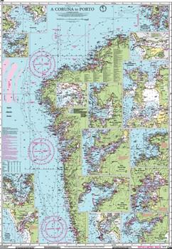 Imray C48 A Coruña to Porto Chart
