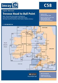Imray C58 Trevose Head to Bull Point Chart