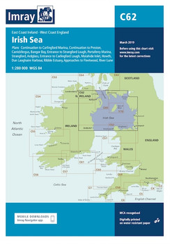 Imray C62 Irish Sea Charts
