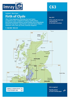 Imray C63 Firth of Clyde Chart