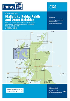 Imray C66 Mallaig to Rudha Reidh and Outer Hebrides Chart