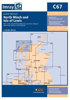Imray C67 North Minch and Isle of Lewis Chart