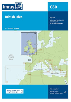 Imray C80 British Isles Chart