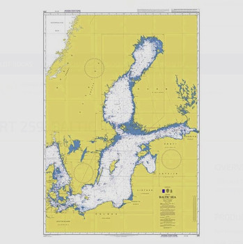 ADMIRALTY Chart 259: Baltic Sea
