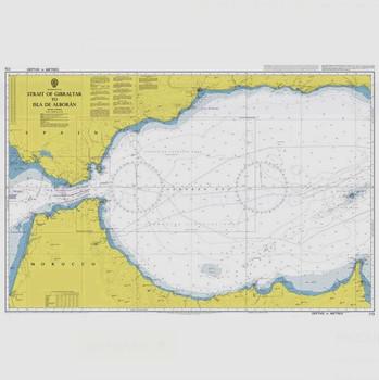 ADMIRALTY Chart 773: Strait of Gibraltar to Isla de Alboran