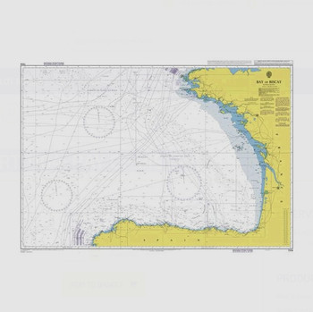 ADMIRALTY Chart 1104: Bay of Biscay