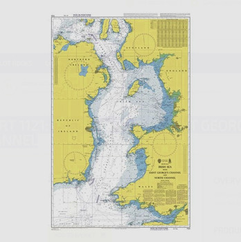 ADMIRALTY Chart 1121: Irish Sea with Saint George's Channel and North Channel