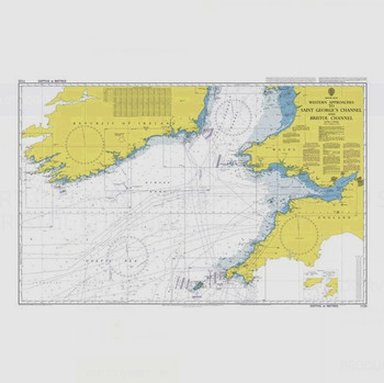 ADMIRALTY Chart 1123: Western Approaches to Saint George's Channel and Bristol Channel
