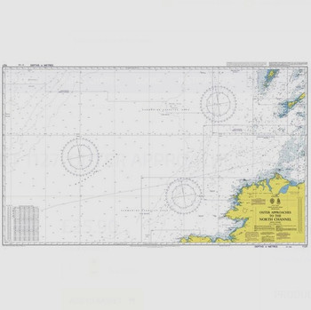 ADMIRALTY Chart 1127: Outer Approaches to the North Channel