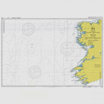 ADMIRALTY Chart 1125: Western Approaches to Ireland