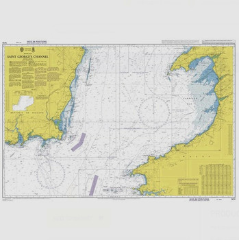 ADMIRALTY Chart 1410: Saint George's Channel