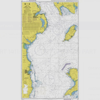 ADMIRALTY Chart 1411: Irish Sea - Western Part