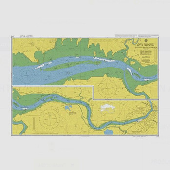 ADMIRALTY Chart 1540: River Shannon - Shannon Airport to Limerick