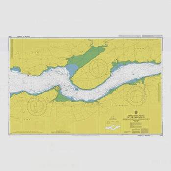 ADMIRALTY Chart 1548: River Shannon - Ardmore Point to Rinealon Point