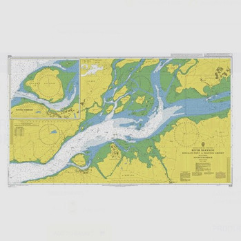 ADMIRALTY Chart 1549: River Shannon - Rinealon Point to Shannon Airport Including Foynes Harbour