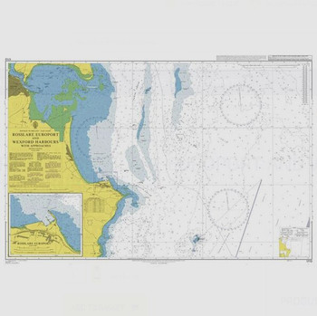 ADMIRALTY Chart 1772: Rosslare Europort and Wexford Harbours with Approaches