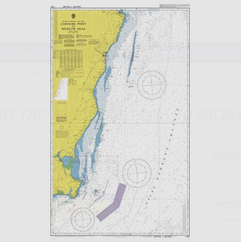 ADMIRALTY Chart 1787: Carnsore Point to Wicklow Head