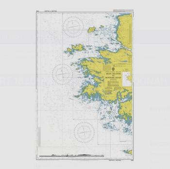 ADMIRALTY Chart 1820: Aran Islands to Roonah Head