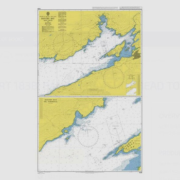 ADMIRALTY Chart 1838: Bantry Bay Shot Head to Bantry