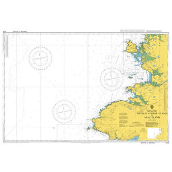 ADMIRALTY Chart 1879: Rathlin O'Birne Island to Aran Island