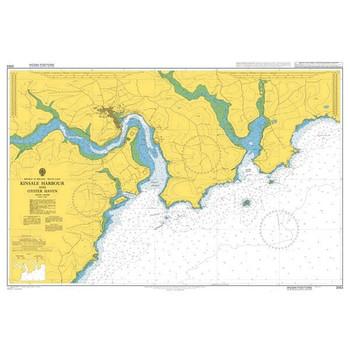 ADMIRALTY Chart 2053: Kinsale Harbour and Oyster Haven