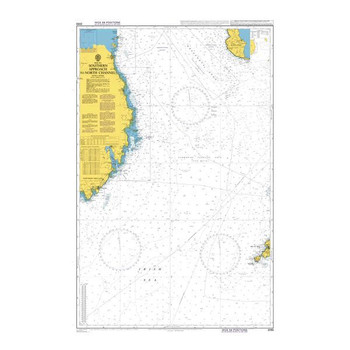 ADMIRALTY Chart 2093: Southern Approach to North Channel