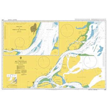 ADMIRALTY Chart 2189: Rio Amazonas - Canal Do Norte