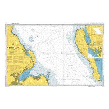 ADMIRALTY Chart 2198: North Channel Southern Part