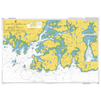 ADMIRALTY Chart 2096: Cashla Bay to Kilkieran Bay
