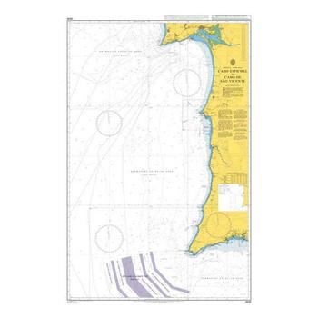 ADMIRALTY Chart 3636: Cabo Espichel to Cabo De Sao Vicente