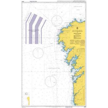 ADMIRALTY Chart 3633: Islas Sisargas to Montedor
