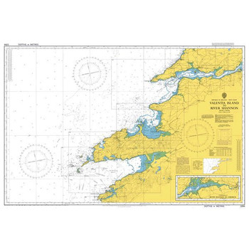 ADMIRALTY Chart 2254: Valentia Island to River Shannon