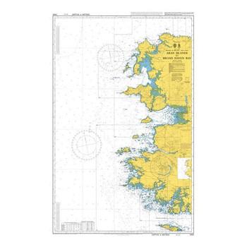 ADMIRALTY Chart 2420: Aran Islands to Broad Haven Bay