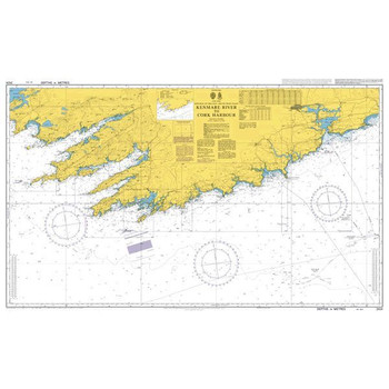 ADMIRALTY Chart 2424: Kenmare River to Cork Harbour