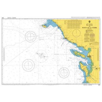 ADMIRALTY Chart 2663: Ile D'Yeu to Pointe de la Coubre
