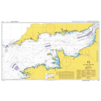ADMIRALTY Chart 2675: English Channel