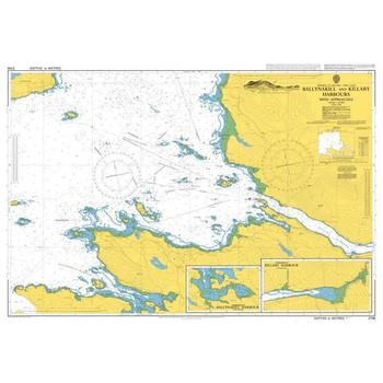ADMIRALTY Chart 2706: Ballynakill and Killary Harbours with Approaches