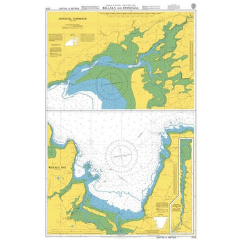 ADMIRALTY Chart 2715: Killala and Donegal
