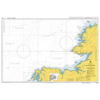 ADMIRALTY Chart 2725: Blacksod Bay to Tory Island