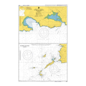 ADMIRALTY Chart 2790: Ireland - West Coast, Ventry and Dingle Harbours
