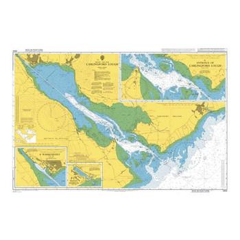 ADMIRALTY Chart 2800: Carlingford Lough