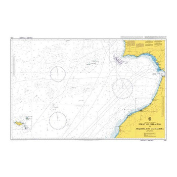 ADMIRALTY Chart 3132: Strait of Gibraltar to Arquipelago da Madeira